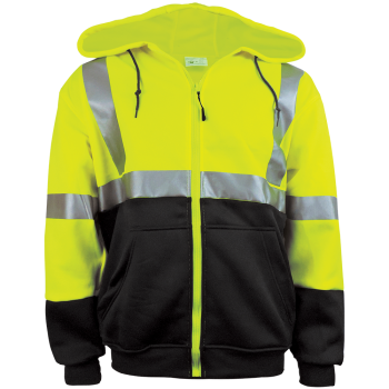 GLO-HS2 - FrogWear HV - High-Visibility Hooded Sweatshirt