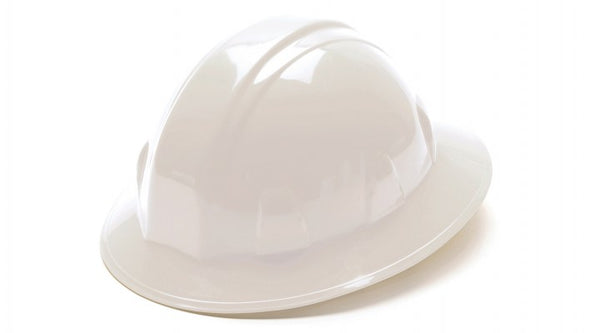 Pyramex® SL Series Full Brim Hard Hats, 6-Point Ratchet