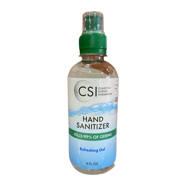 CSI Gel Hand Sanitizer, 8 Fl oz [77-405]
