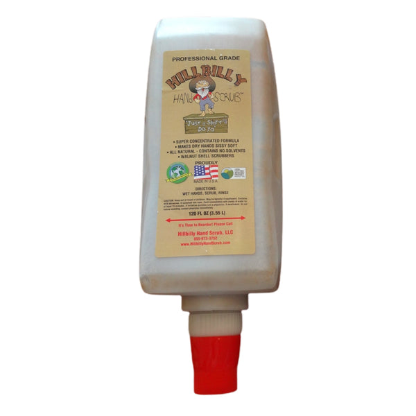 Hillbilly Hand Scrub 120 Oz. [HHS/120]