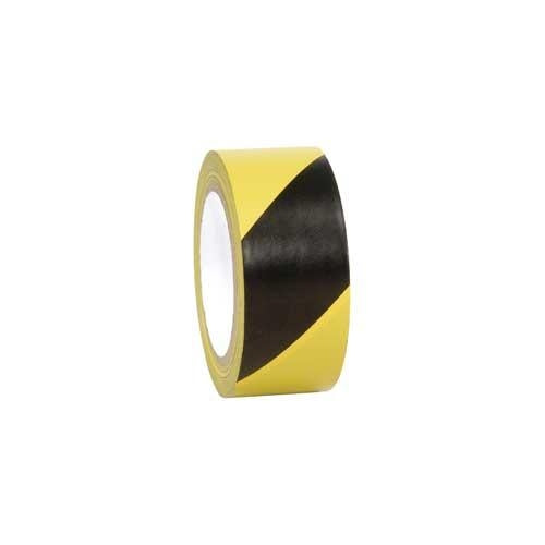 "Incom Manufacturing: Hazard Warning Laminated Safety Tape, 2"" x 54', Yellow/Black [LWT210]"