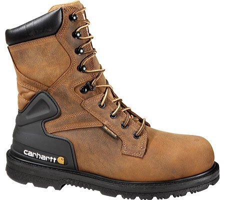 "Carhartt® 8"" Bison Brown Steel Toe Boot"