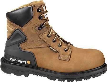 "Carhartt 6"" Bison Brown Steel Toe Boot"