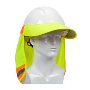 EZ-Cool® Hi-Vis Hard Hat Visor and Neck Shade