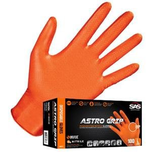 SAS® Safety Astro-Grip Powder Free Nitrile Gloves