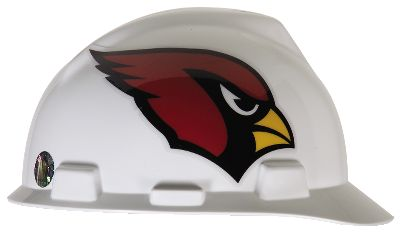 MSA NFL Hard Hats Arizona Cardinals