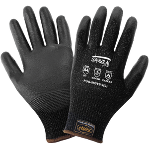 PUG-555TS - Samurai Glove - Cut and Heat Resistant Dipped Gloves
