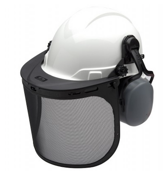 Forestry Kit White Ridgeline Cap Style Hard Hat [FORKIT10]
