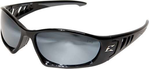 Edge® Safety Glasses Baretti Series Silver Mirror Lens [SB117]