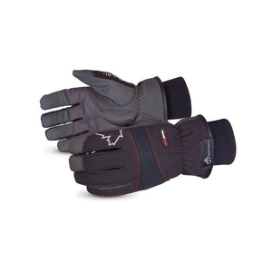 Superior Glove® SnowForce™ Polyester Softshell Thinsulate™ Lined Winter Driver Gloves