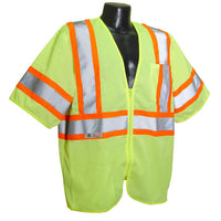 Radians® Economy Type R Class 3 Safety Vest With Two-Tone Trim [SV22-3ZGM]