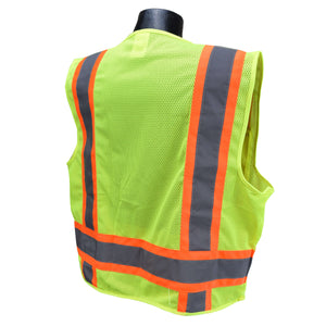 Radians® Two Tone Surveyor Type R Class 2 Safety Vest [SV6-2ZGM]