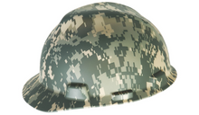 MSA® V-Gard® Slotted Protective Hat w/ Fas-Trac® III Suspension