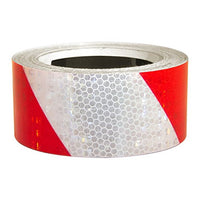 "Superbrite Reflective Tape Red/White 2"" x 30' [HRT230RW]"