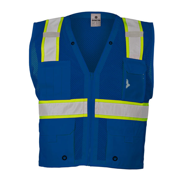 M.L. Kishigo® Enhanced Visibility Multi-pocket Mesh Vest
