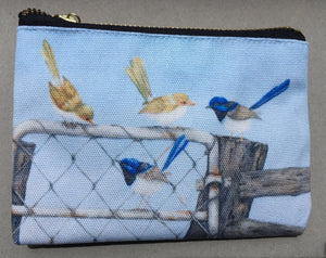 Pencil Case/Zipper Pouch:  Double Date III