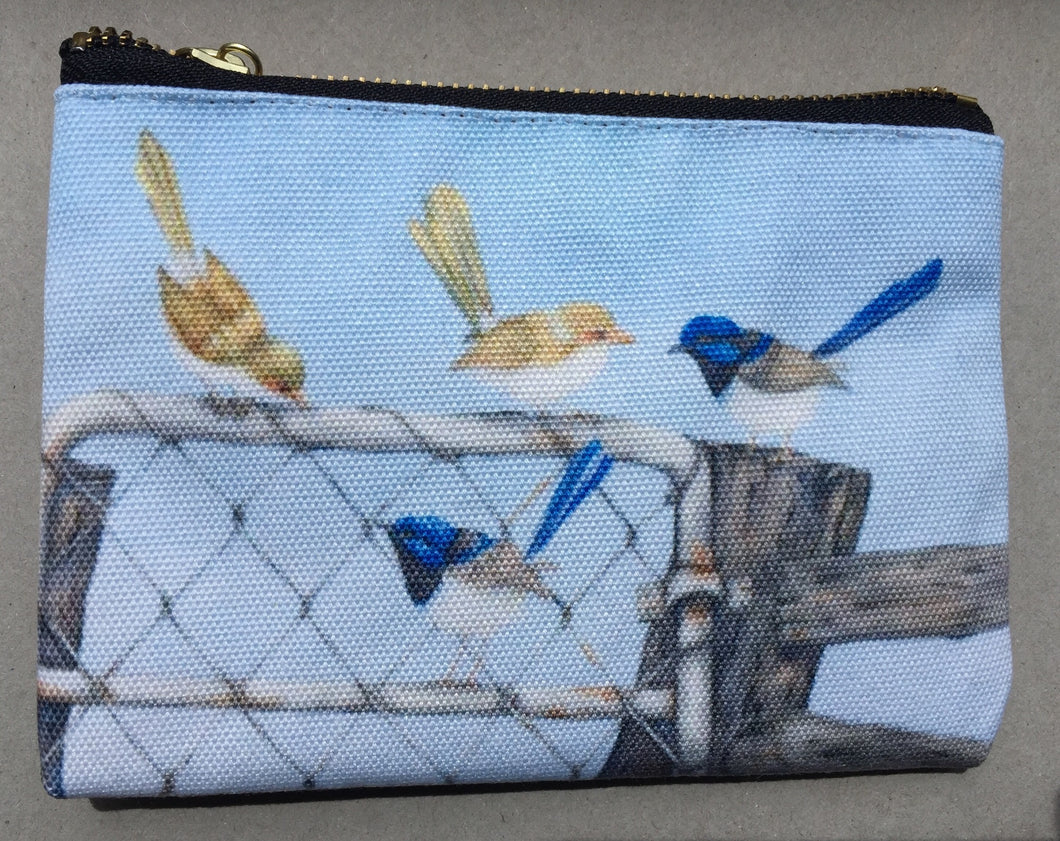 Pencil Case/Pouch:  Double Date III