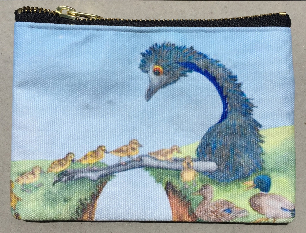 Pencil Case/Zipper Pouch: Duck Crossing
