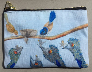 Pencil Case/Zipper Pouch: Helping Hands