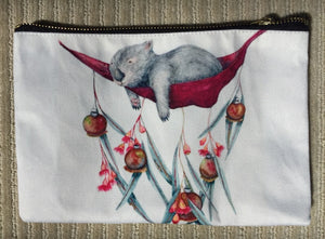Pencil Case/Zipper Pouch: Lazy Days