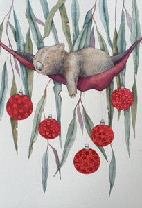 Sleepy Head Series: Wombat: Hanging out for Christmas