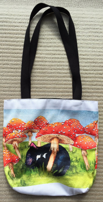 Tote Bag: Spotty Rest Stop