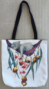 "Tote Bag: ""Hanging Out"""