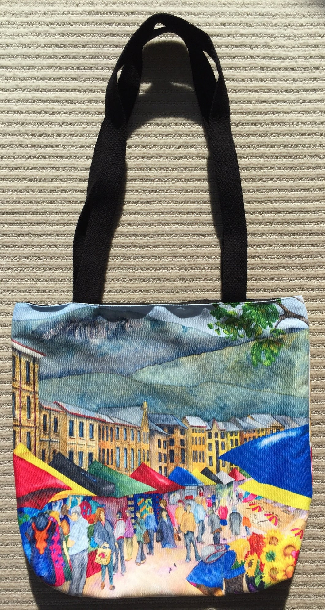 Tote Bag: Salamanca Saturdays