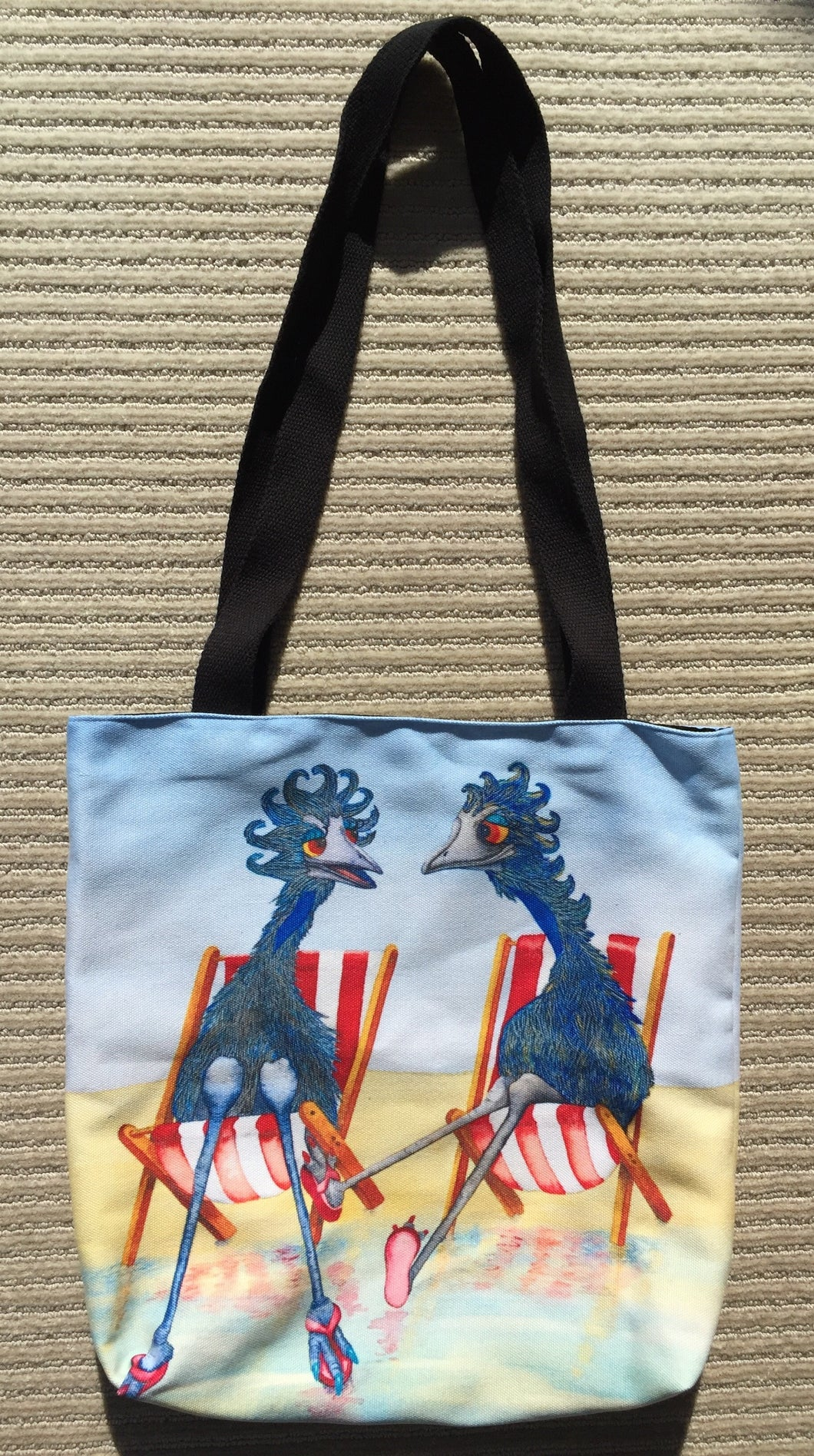 Tote Bag: Beachside Chatter