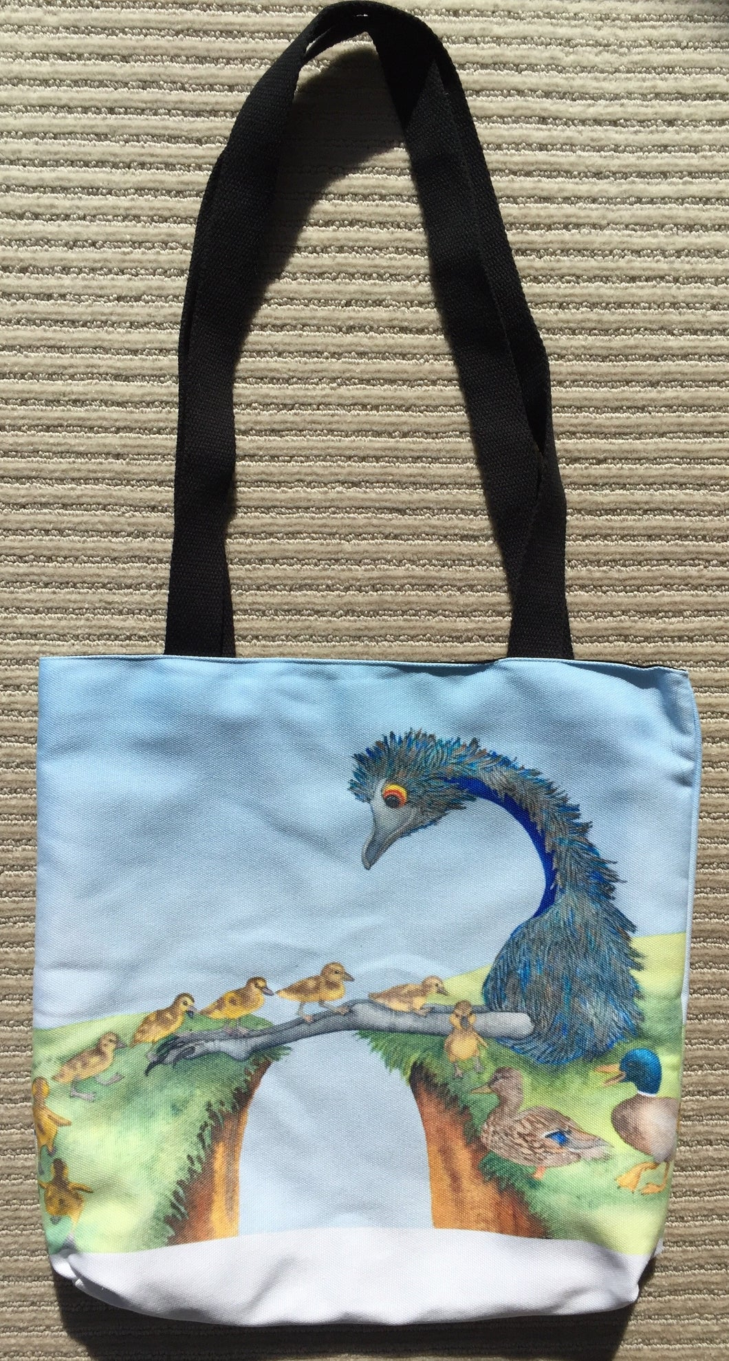 Tote Bag: Duck Crossing