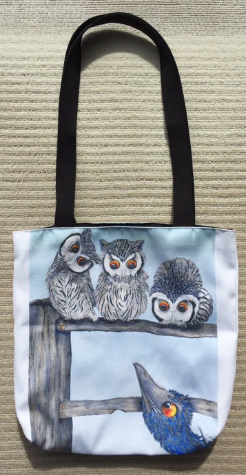 Tote Bag: Who, Who, Who are You?II