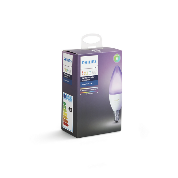 Philips Hue White and Colour Candles (E14) Shipping