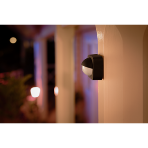 Philips Hue outdoor sensor on wall