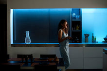 Load image into Gallery viewer, Hue lightstrip blue kitchen