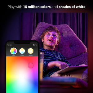 Philips Hue Colour Starter Kit - E27 Screw