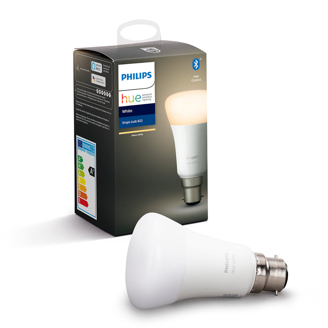 Philips Hue White Bluetooth B22 Globe