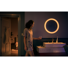 Load image into Gallery viewer, Philips Hue Adore Bathroom Mirror Light - White dimmed