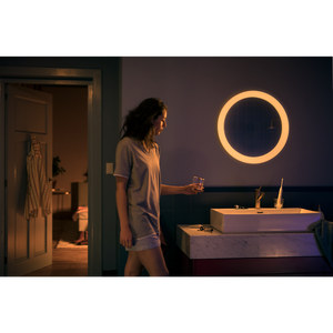 Philips Hue Adore Bathroom Mirror Light - White dimmed