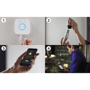Philips Hue White Ambiance Starterkit E27 - Bluetooth