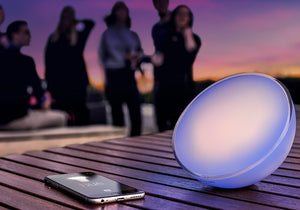 philips hue go blue outdoor with music