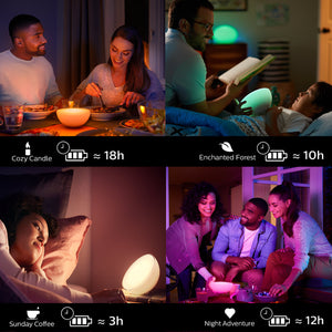 Philips hue Go version 2 - with people