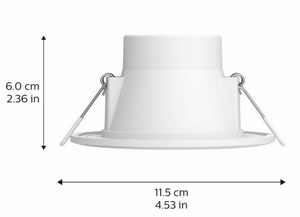 Hue Garnea Downlight Dimensions