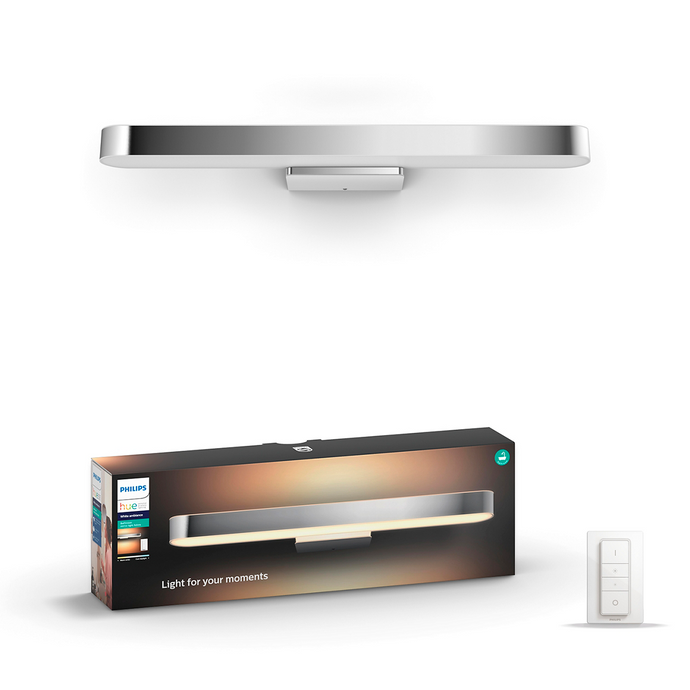 Philips Hue Adore Bathroom Mirror Light - Chrome Box
