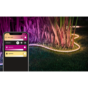 Philips Hue Outdoor Lightstrip outdoor in ferns