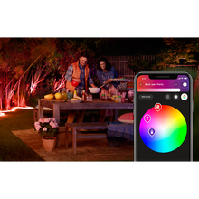 Load image into Gallery viewer, Philips Hue Outdoor Lightstrip outdoor lifestyle