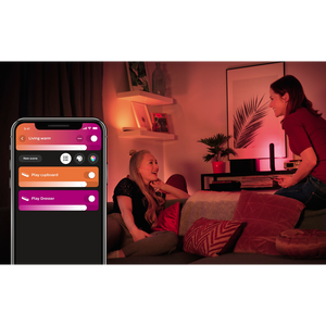 Philips Hue Play Lightbar - Double pack the app