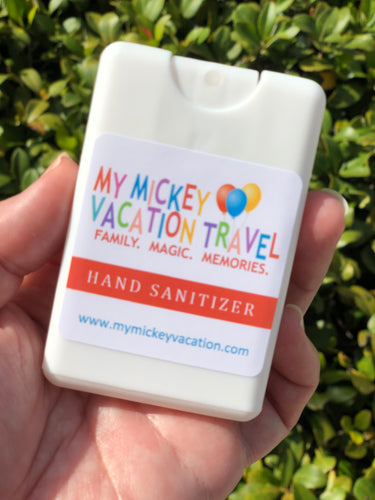 My Mickey Vacation Travel Sanitizer