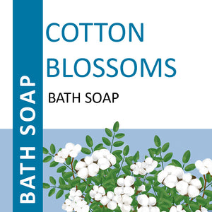 Cotton Blossoms Bath Soap