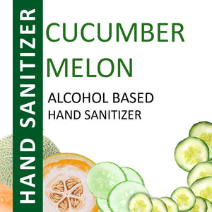Cucumber Melon Alcohol Based Hand Sanitizer