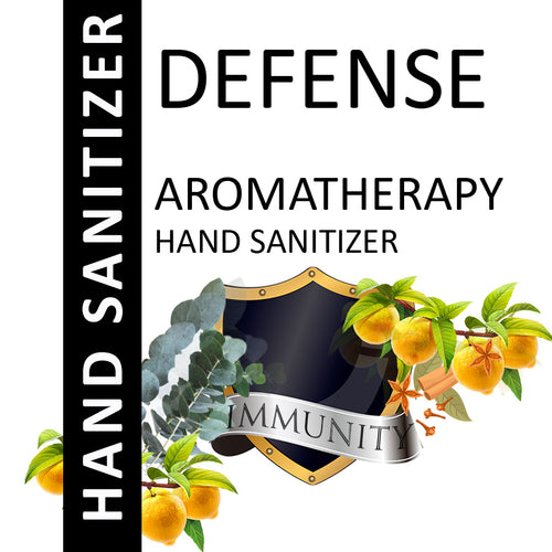Defense Aromatherapy Alcohol Based Hand Sanitizer
